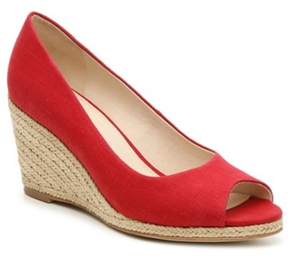 Kelly & Katie Kaydena Espadrille Wedge Pump