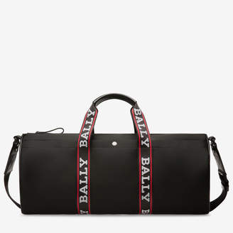 Bally Daffy Black, Men's nylon duffle bag in black