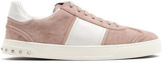 Valentino Fly Crew low-top suede trainers