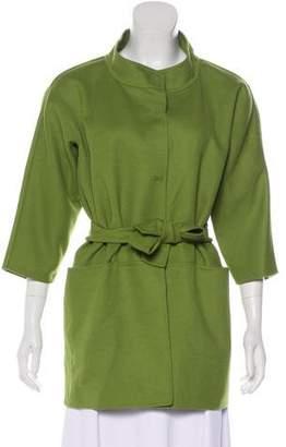 Max Mara Virgin Wool-Blend Short Coat