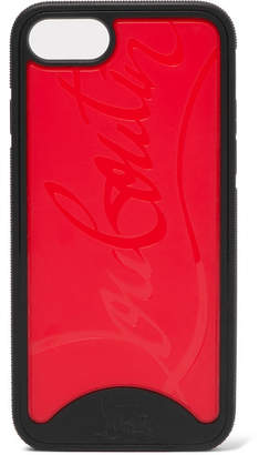 Christian Louboutin Loubiphone Embossed Pvc Iphone 7 And 8 Case - Red