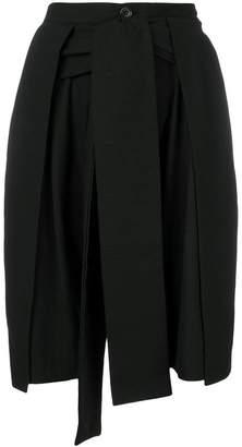 Henrik Vibskov textured flip shorts