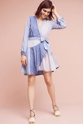 Maeve Newport Striped Shirtdress $158 thestylecure.com