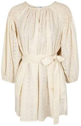 Marysia Swim Salvador Broderie Anglaise Mini Dress