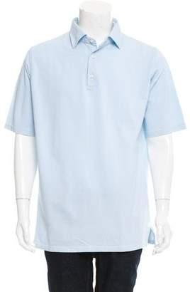 Borrelli Short Sleeve Polo Shirt