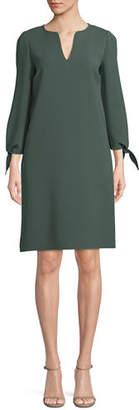 Lafayette 148 New York Khloe Finesse Crepe Shift Dress