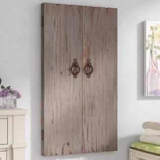 Lark Manor Ilias Wooden Wall Storage Cabinet Jewelry Armoire