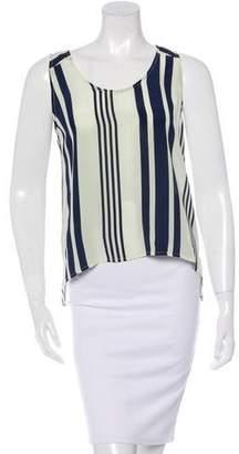 Jenni Kayne Silk Striped Top