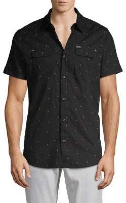 Buffalo David Bitton Sabooro Graphic Button-Down Shirt