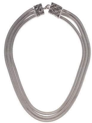 Nina Ricci Multistrand Collar Necklace