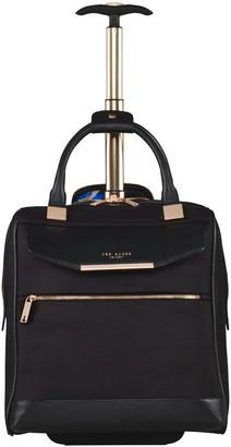 Ted Baker Albany Softside 2 Wheel Business Bag - Black