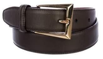 Salvatore Ferragamo Leather Hip Belt
