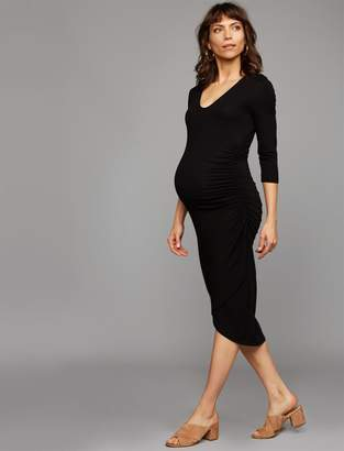 Isabella Oliver Vera Ruched Maternity Dress