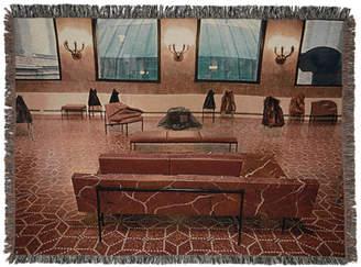 Bless Multicolor Plateau Sofa Lobby Blanket