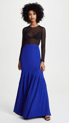 Roberto Cavalli Knit Maxi Skirt