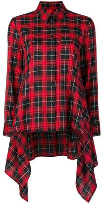 Neil Barrett oversized plaid shirt