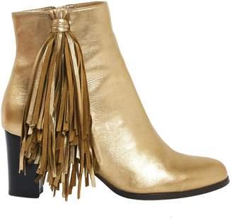 Christian Louboutin Cloth Buckled Boots mpE1uXOYlX