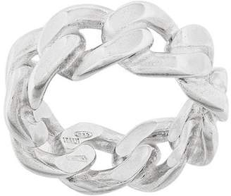 Maison Margiela curb chain ring