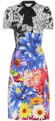 Mary Katrantzou Belote floral-printed silk dress