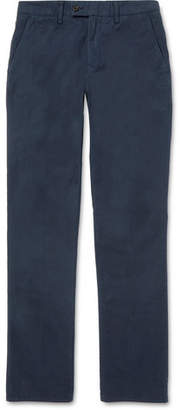 Aspesi Garment-Dyed Cotton Trousers