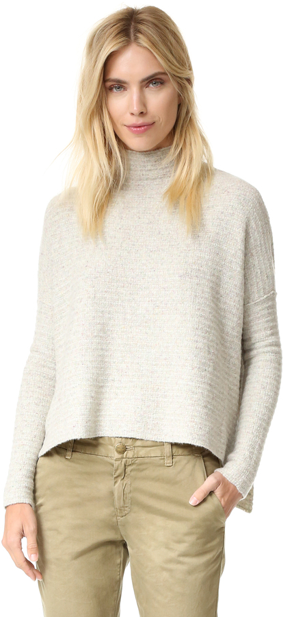 Free People Arctic Fox Zip Back Sweater