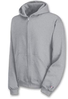 Champion Boys Big Boys' Powerblend Eco Fleece Full Zip Hoodie