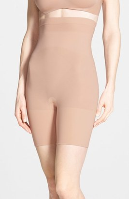SPANX ® Higher Power Mid-Thigh Shaping Shorts (Regular & Plus Size) $38 thestylecure.com
