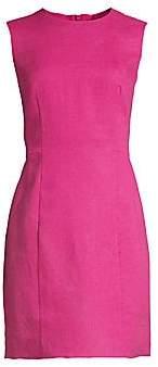 Theory Women's Mini Panel Linen Sheath Dress