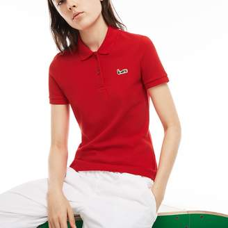 Lacoste Women's M/M Collab Slim Fit Thick Cotton Pique Polo