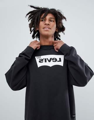 Levi's Levis Line 8 Line 8 reverse batwing sweatshirt black