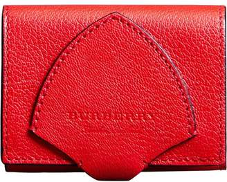 Burberry Equestrian Shield Leather Wallet