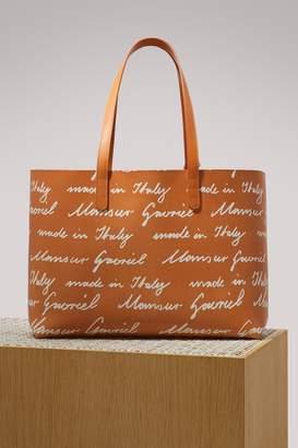Mansur Gavriel Vegetable-tanned leather tote