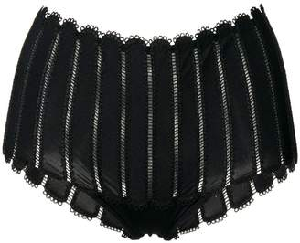 Parah Kim embroidered french knickers