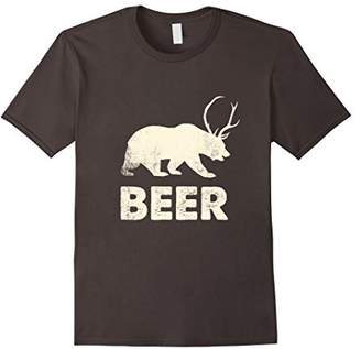 Awesome Vintage Christmas Beer T Shirt - Bear Beer Shirt