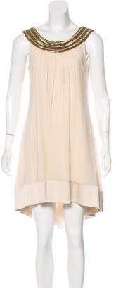 Jasmine Di Milo Silk Embellished Dress