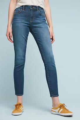 Pilcro Script High-Rise Skinny Jeans $128 thestylecure.com