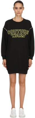 Moschino Oversized Couture Wars Sweatshirt Dress