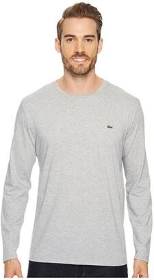 Lacoste Long Sleeve Pima Jersey Crew Neck T-Shirt