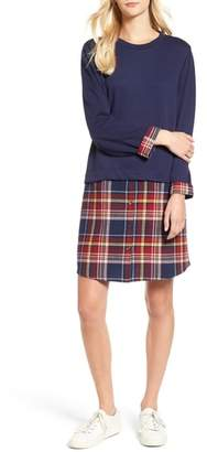 Caslon Layered Look Tunic Dress