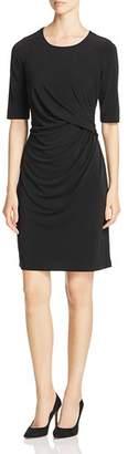 Nic+Zoe Fundamental Drape-Front Dress