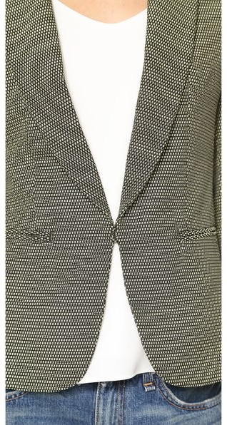 Rag and Bone Rag & Bone Peak Lapel Sliver Blazer