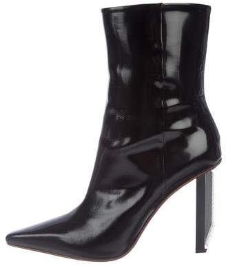 Vetements Pointed-Toe Mid-Calf Boots