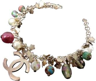 Chanel Multicolour Silver Plated Bracelet