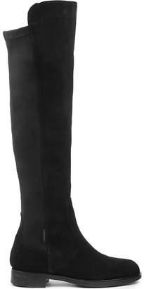 Carvela Ladies Black Timeless Walnut Knee-High Boots