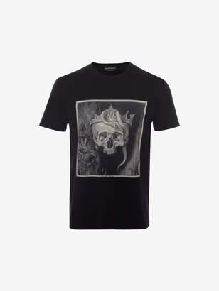 Alexander McQueen Crowned Skull T-Shirt