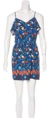 Tibi Silk Printed Dress w/ Tags