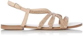 aa9e48eac10b Dorothy Perkins Womens  Head Over Heels By Dune Rose Gold  Neema  Ladies  Flat