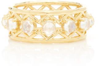 Ark Muse 18K Gold Moonstone Ring