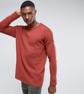 Another Influence TALL Drop Shoulder Knitted Jumper