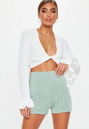 Missguided Seam Front Scuba Hotpants